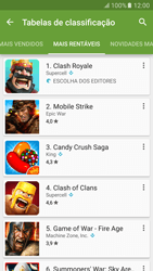 Samsung Galaxy S6 Android M - Aplicações - Como pesquisar e instalar aplicações -  9