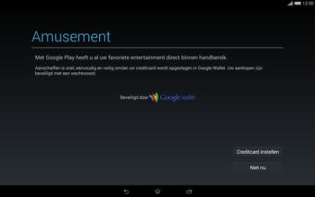 Sony Xperia Tablet Z2 4G (SGP521) - Applicaties - Account aanmaken - Stap 22