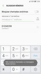 Samsung Galaxy S7 - Android Nougat - Chamadas - Como bloquear chamadas de um número -  11