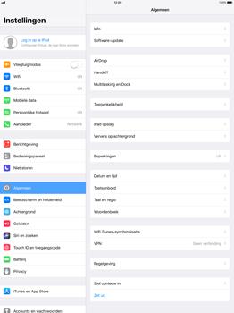 Apple iPad Pro 12.9 - iOS 11 - Netwerk selecteren - Handmatig een netwerk selecteren - Stap 4