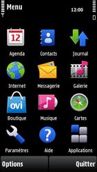 Nokia X6-00 - MMS - envoi d'images - Étape 2