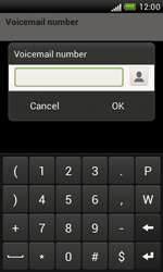 HTC T328e Desire X - Voicemail - Manual configuration - Step 7