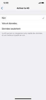 Apple iPhone XS - Réseau - activer 4G - Étape 6