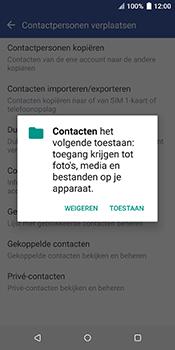 HTC u12-plus-2q55200 - Contacten en data - Contacten kopiëren van SIM naar toestel - Stap 7