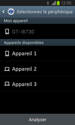 Samsung Galaxy Express - Photos, vidéos, musique - Envoyer une photo via Bluetooth - Étape 12