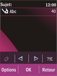 Nokia C2-03 - MMS - envoi d'images - Étape 11
