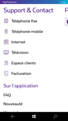 Microsoft Lumia 650 - Applications - MyProximus - Étape 22