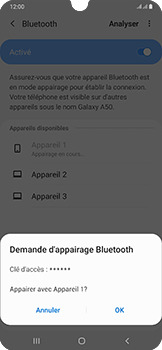 Samsung Galaxy A50 - Bluetooth - connexion Bluetooth - Étape 10