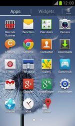 Samsung S7560 Galaxy Trend - SMS - Handmatig instellen - Stap 3