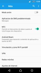 Sony Xperia Z5 Compact - Mensajería - Configurar el equipo para mensajes multimedia - Paso 5