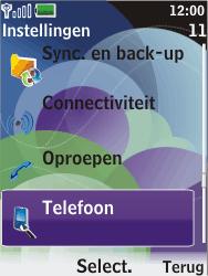 Nokia 7610 supernova - Bellen - in het buitenland - Stap 4