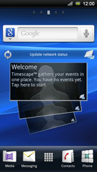 Sony Ericsson Xperia Neo - Network - Usage across the border - Step 1