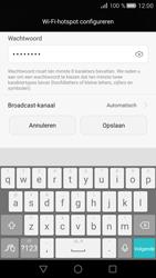 Huawei P8 (Model GRA-L09) - WiFi - Mobiele hotspot instellen - Stap 8