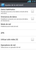 LG Optimus L9 - Internet - Activar o desactivar la conexión de datos - Paso 8