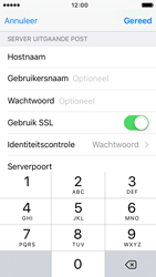 Apple iPhone SE - E-mail - Account instellen (IMAP zonder SMTP-verificatie) - Stap 20