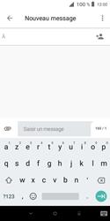 Alcatel 1X - Contact, Appels, SMS/MMS - Envoyer un SMS - Étape 5