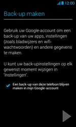 Huawei Ascend Y300 - Applicaties - Account aanmaken - Stap 24