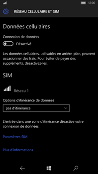 Microsoft Lumia 950 XL - Internet - activer ou désactiver - Étape 7