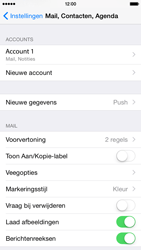 Apple iPhone 6 iOS 8 - E-mail - e-mail instellen: IMAP (aanbevolen) - Stap 16