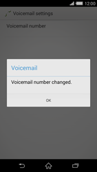 Sony Xperia Z2 (D6503) - Voicemail - Manual configuration - Step 9