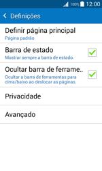 Samsung Galaxy J1 - Internet no telemóvel - Como configurar ligação à internet -  21