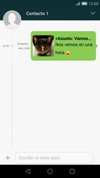 Huawei Ascend G7 - Mensajería - Escribir y enviar un mensaje multimedia - Paso 20