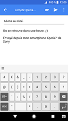 Sony Xperia XZ Premium - Android Oreo - E-mail - envoyer un e-mail - Étape 9