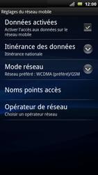 Sony Ericsson Xperia Arc - Réseau - utilisation à l'étranger - Étape 9
