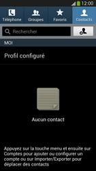 Samsung Galaxy S4 - Contact, Appels, SMS/MMS - Ajouter un contact - Étape 4