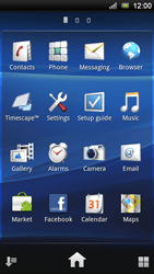 Sony Ericsson Xperia Ray - Mms - Sending a picture message - Step 2