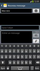 Samsung I9505 Galaxy S IV LTE - MMS - envoi d'images - Étape 10