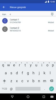 Huawei Nexus 6P - Android Oreo - MMS - afbeeldingen verzenden - Stap 5