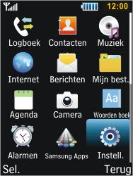 Samsung C3350 Xcover 2 - Netwerk - gebruik in het buitenland - Stap 5
