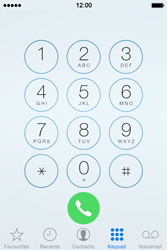 Apple iPhone 4s iOS 8 - Voicemail - Manual configuration - Step 4