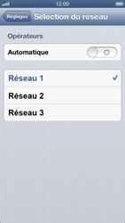 Apple iPhone 5 - Réseau - utilisation à l'étranger - Étape 9