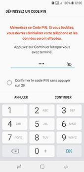 Samsung Galaxy A6 - Sécuriser votre mobile - Activer le code de verrouillage - Étape 8