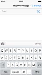 Apple iPhone 5s - Mensajería - Escribir y enviar un mensaje multimedia - Paso 4