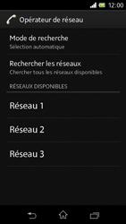 Sony C1905 Xperia M - Réseau - utilisation à l'étranger - Étape 11