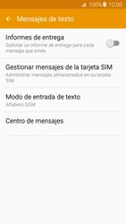 Samsung Galaxy A5 (2016) - Mensajería - Configurar el equipo para mensajes de texto - Paso 7