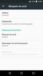 Alcatel Idol 4 VR - Segurança - Como ativar o código de bloqueio do ecrã -  5