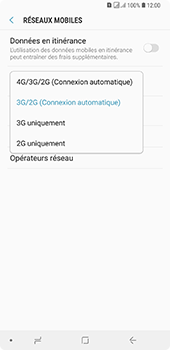Samsung Galaxy A7 (2018) - Réseau - activer 4G - Étape 7
