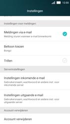 Huawei Y5 - E-mail - Instellingen KPNMail controleren - Stap 10