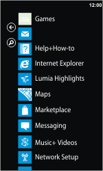 Nokia Lumia 900 - Internet - Internet browsing - Step 2