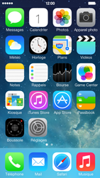 Apple iPhone 5s - Contact, Appels, SMS/MMS - Envoyer un SMS - Étape 1