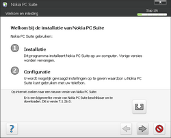 Nokia E70 - Software - PC-software installeren - Stap 3