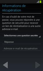 Samsung Galaxy S3 Mini - Premiers pas - Créer un compte - Étape 18