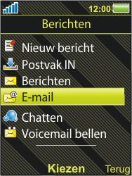 Sony Ericsson W995 - E-mail - handmatig instellen - Stap 4