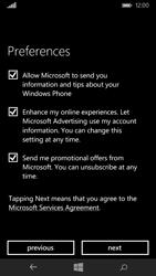 Microsoft Lumia 535 - Applications - Create an account - Step 21