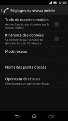 Sony C1905 Xperia M - Réseau - utilisation à l'étranger - Étape 9