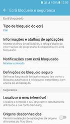 Samsung Galaxy J5 (2016) DualSim (J510) - Segurança - Como ativar o código de bloqueio do ecrã -  12